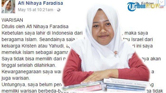 Gadis Penulis 'Warisan' yang Dituduh Liberal dan Anti-Islam, Kembali Posting Sindiran Mengejutkan
