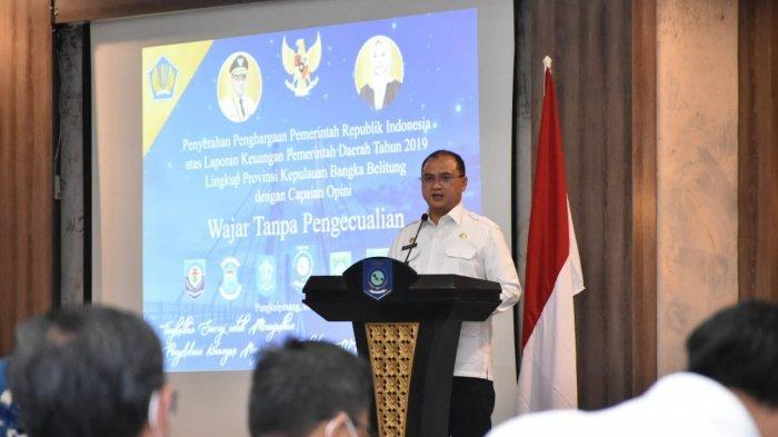 Tujuh Pemda di Bangka Belitung Raih Pencapaian Opini Wajar Tanpa Pengecualian