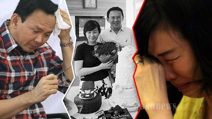 Veronica Tan Menangis Haru Saat Ahok Tulis Surat Cinta untuknya, Namun Kini Semua Tinggal Kenangan