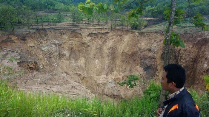 Air di Danau Gunung Kidul Tiba-tiba Hilang dalam 2 Jam, Suara Gemuruh Bikin Takut Warga