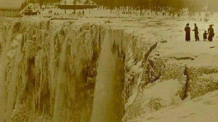 Air Terjun Niagara Ternyata Pernah Tiba-tiba Berhenti Mengalir