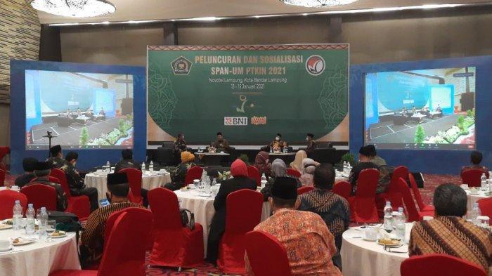 SPAN-UM PTKIN Diluncurkan, IAIN SAS Bangka Belitung Siap Terima Mahasiswa Baru
