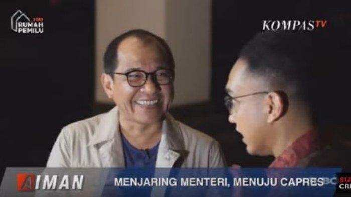 Pengakuan Akbar Faisal, Ada Orang Memaki Jokowi tetapi Ujung-ujungnya Minta Dijadikan Menteri