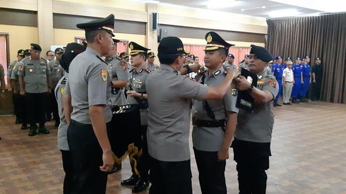 Kapolres di Polda Bangka Belitung Sertijab