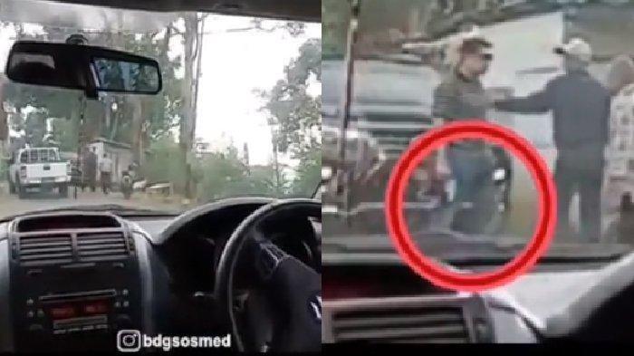 Aksi Koboi Pengemudi Mobil Todongkan Pistol ke Warga, Polri Sebut Itu Polisi Sedang Lakukan Ini