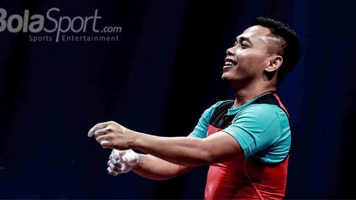 Medali Emas Kelima untuk Indonesia, Eko Yuli Unggul di Cabang Olahraga Angkat Besi