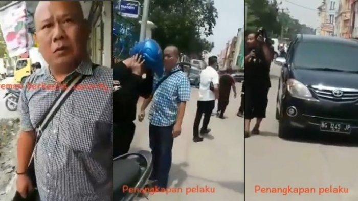 Viral dan Buat Heboh Aksi Polisi Menyamar Tangkap Preman Berkedok Security