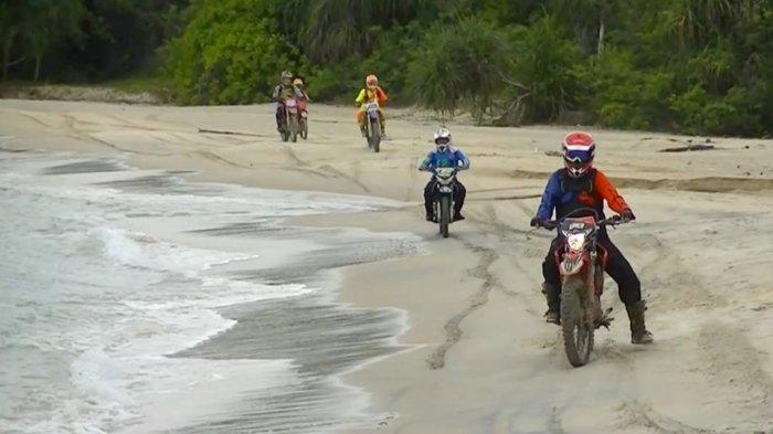 Trail Community Polres Bangka Berpetualang Jelajah Alam
