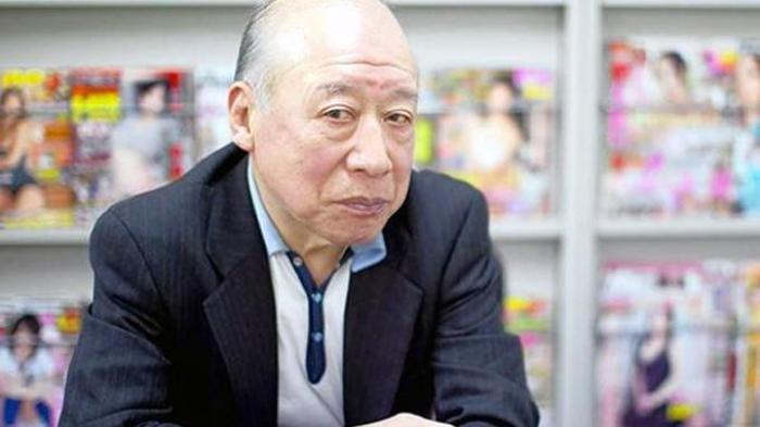Shigeo Tokuda (80) aktor porno Jepang tertua.