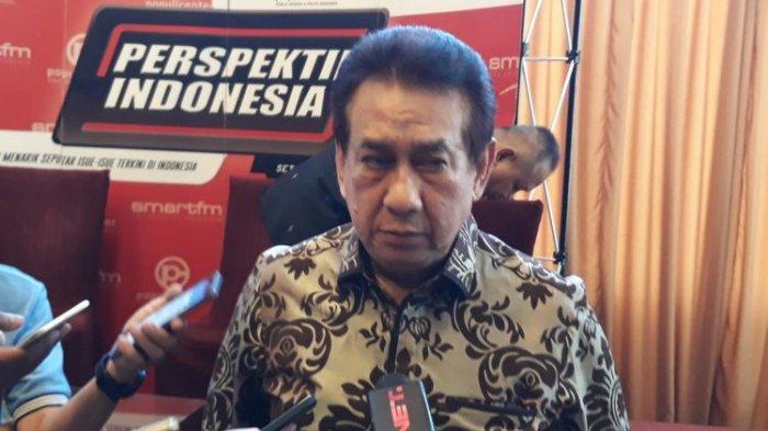 Aktor senior Anwar Fuady di Menteng, Jakarta, Sabtu (24/2/2018).