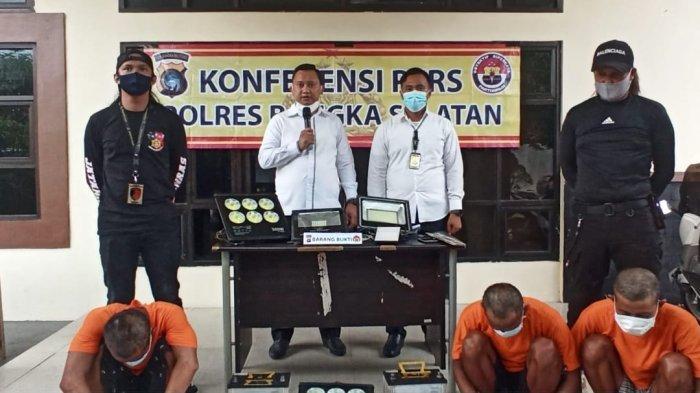 Curi Sekaligus Jual Lampu Sorot dan Aki Nelayan, Tobi Dibekuk Polisi