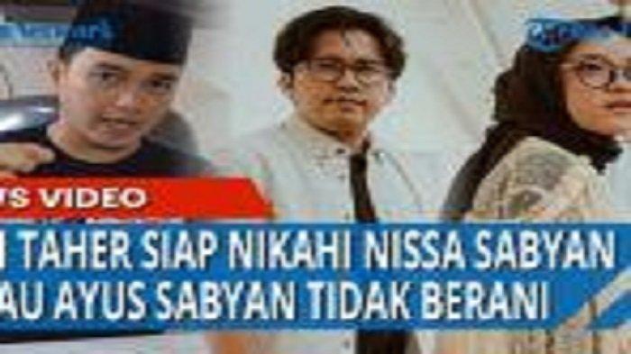 Aldi Taher, Si Presiden Poligami Muda Indonesia Bela Nissa Sabyan, Lalu Ceramahi Ayus Sabyan