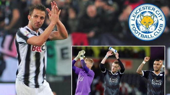 Kagumnya Del Piero dengan Leicester City; Ini Untuk Cerita Anak Cucu Kita