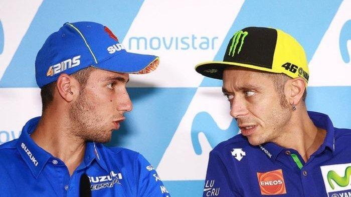 Alex Rins Finis Lebih Cepat, Valentino Rossi Puji Performa Suzuki di MotoGP Qatar