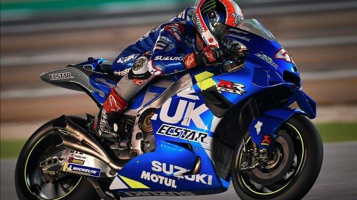 Hasil Tes Pramusim MotoGP 2020 Qatar, Alex Rins Tercepat Kalahkan Marquez dan Rossi