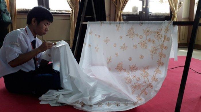 Alviando Disabilitas Tuna Rungu Jago Mencanting Batik