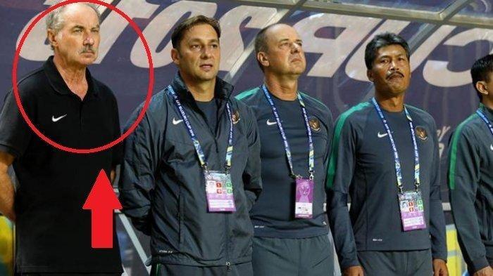 Wajah Alfred Riedl dari bench stadion yang sering kita lihat saat menemani timnas berlaga.