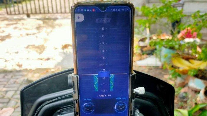 Ini Dia 'Otak' Yamaha All New NMAX 155 Connected/ABS
