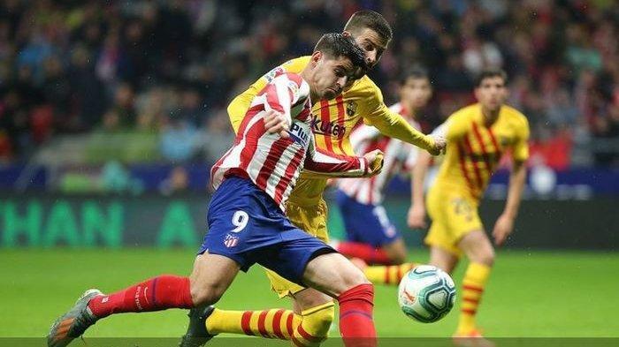 Higuain Hengkang, Juventus Bergerak Cepat Pulangkan Striker Atletico Madrid Alvaro Morata ke Turin