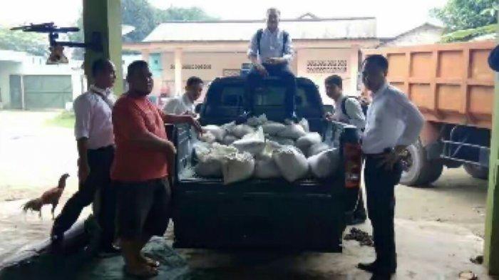 Ditkrimsus Polda Bekuk Kolektor Timah di Matras Sungailiat, 1 Ton Pasir Timah Diamankan