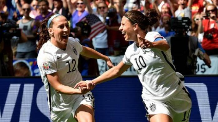 Amerika Serikat Juara Piala Dunia Wanita