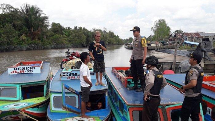 Anang Hermansyah Mudik Ajak Keluarga Naik Kapal Speed di Pelabuhan Sungaiselan