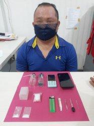 Simpan Sabu di Rumah, Butak ditangkap Sat Resnarkoba Polres Pangkalpinang