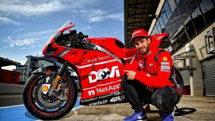 Finis di Podium Ketiga, Andrea Dovizioso Tetap Ultimatum Ducati