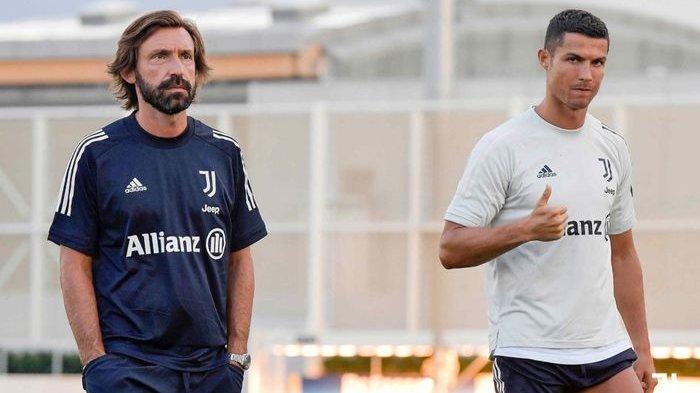 UsiaSudah Tua, Andrea Pirlo akan Istirahatkan Cristiano Ronaldo