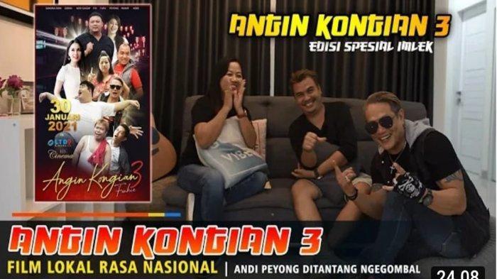 Jadwal Tayang Angin Kongian 3, Cocok Ditonton Momen Imlek, Film Lokal Rasa Nasional