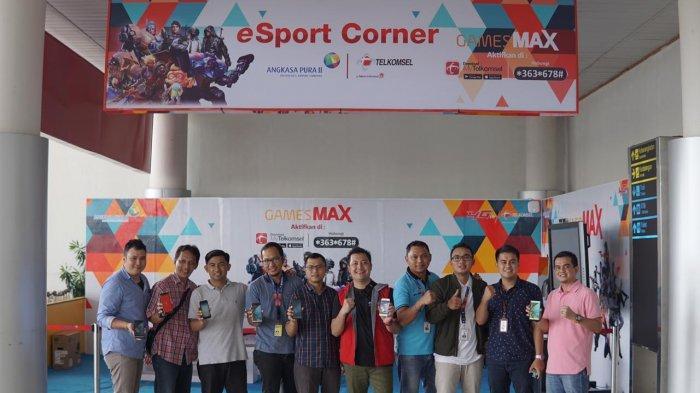 Angkasa Pura Gelar Kompetisi eSport Mobile Legend dan PUBG di Bandara Depati Amir