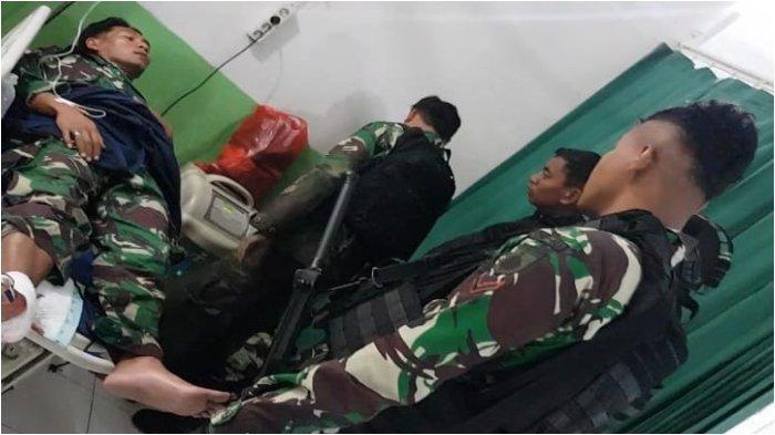 KKB Papua Serang Prajurit TNI, Empat Prajurit Tertembak, Begini Kronologinya