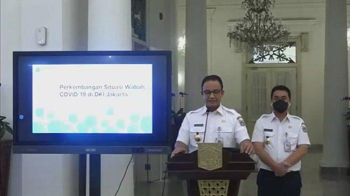 Gubernur Anies Ikuti Surat Edaran Menteri Jokowi, Hanya 25% ASN yang Kerja selama PSBB Total