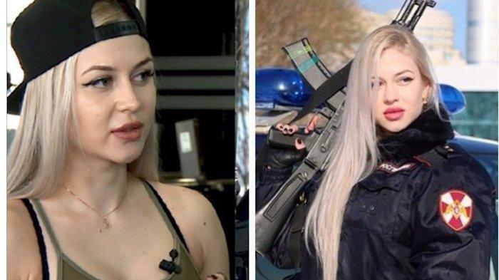 Anna K, Tentara Cantik Pasukan Elit Pengawal Nasional Vladimir Putin yang Dipecat karena Hal Sepele