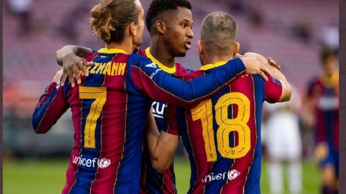 Antoine Griezmann Bawa Barcelona Menang Melawan Elche