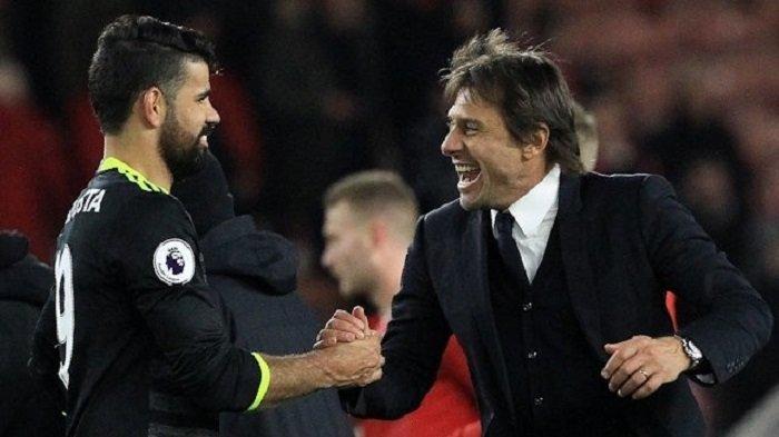 Conte Usir Costa dari Chelsea 'Pergi Sana ke Tiongkok'