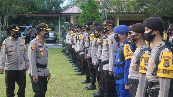 Jelang Pencoblosan Pilkada Bangka Tengah, Polres Geser 383 Pasukan untuk Amankan Tahapan di TPS