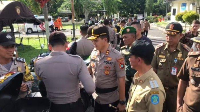 Kapolres dan Bupati Bangka Sampaikan Pesan Siaga Bencana pada Apel Operasi Aman Nusa II