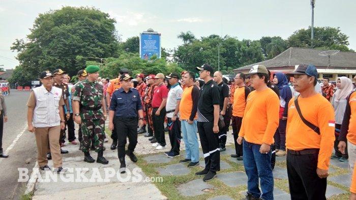 Siaga Bencana, BPBD Pangkalpinang Siap Kerahkan 135 Personel