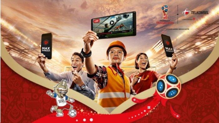 Telkomsel Beri Akses Nonton Piala Dunia Pakai Hp, Unduh Aplikasinya, Dapatkan Rp 30 GB Hanya Rp 10