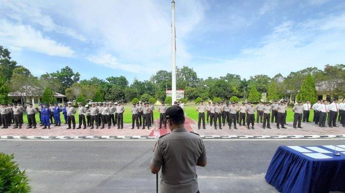 Kapolres Langsung Beri Perintah Kepada Dua Kapolsek di Bangka Tengah yang Baru Dilantik