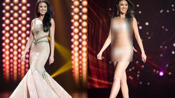 Miss Grand International Ariska Putri Pertiwi Pakai Bikini Begini Reaksi Kampusnya UISU