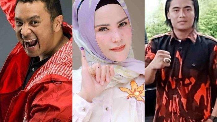 Ini Daftar Lengkap 5 Artis Caleg 2019 Dipastikan Gagal Lenggang Kangkung ke Kursi DPR RI Senayan