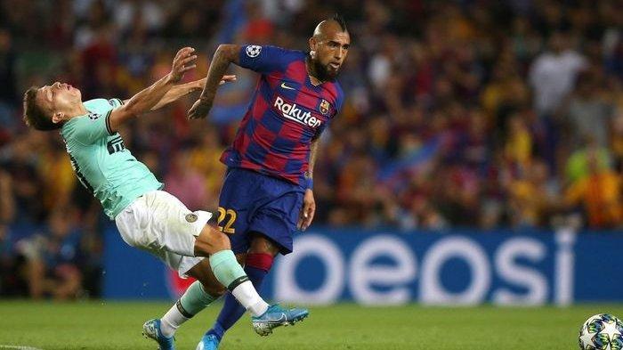 Kabar Transfer - Mantan Pemain Juventus dan Barcelona Arturo Vidal Resmi Mendarat di Inter Milan