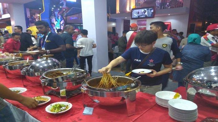 Makanan Ini Jadi Favorit Atlet Asing di Opening Ceremony Asian Games 2018 di Palembang