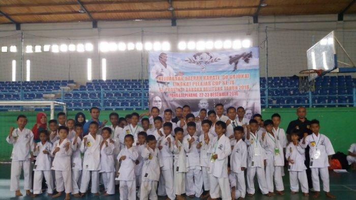 Atlet Karate-Do Gojukai Se-Babel Ikut Kejurda