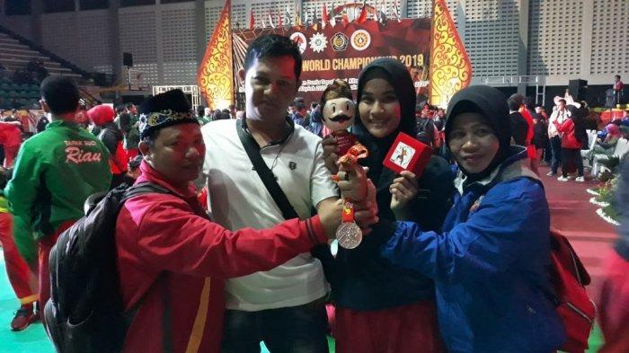 Atlet Tapak Suci Bangka Belitung Raih Medali Perak di Kejuaraan Dunia Silat TS di Solo