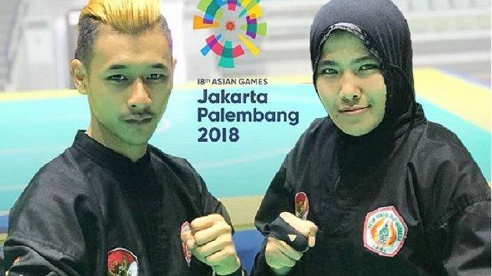 Mengintip Kisah Cinta Atlet Pencak Silat Hanifan dan Pipiet, Peraih Medali Emas di Asian Games 2018