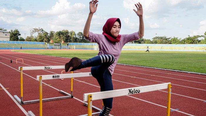 Atlet Cabang Atletik Latihan Rutin Jelang PON XX di Papua