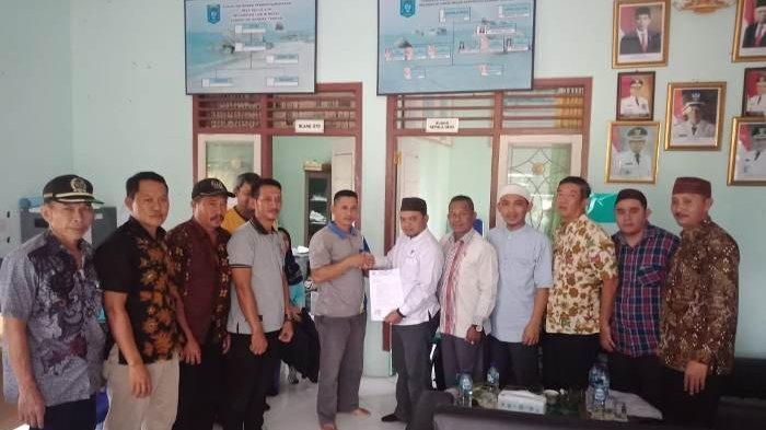 Tolak HGU PT Komogan Barutama, Warga Desa Kulur Ilir Audiensi dengan Komisi II DPRD Bangka Tengah